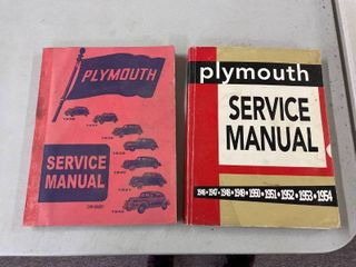 Plymouth Service Manuals 1936 42  1946 52