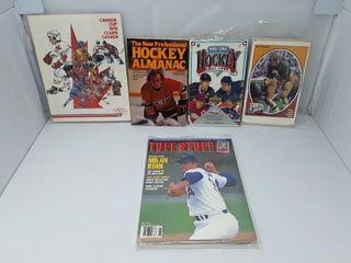 lot Of Assorted Magazines Hockey  Football