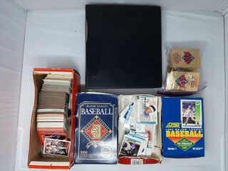 Assortment Of Baseball Cards And Packs Of