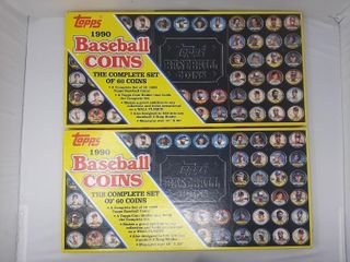 Complete 1990 Baseball Coins