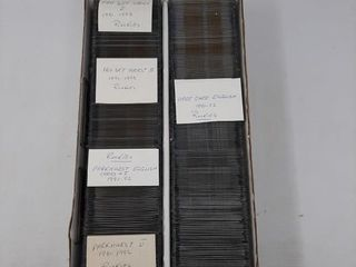 Assortment of hockey cards and rookies