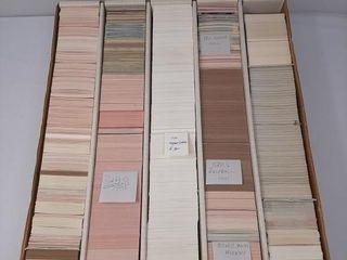 Assortment of baseball cards