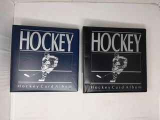 Assortment of hockey becketts in binders