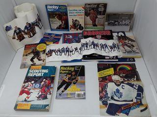 lot Of Hockey 1973  Digest  Nhl Photograph