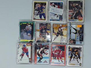 Collection Various Pack Of Hockey Cards