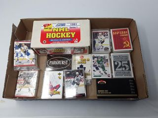 Box Of 1991 Score Cards  Opc 1991 92 Red Army