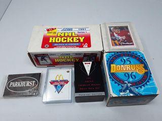 Box Of 1991 Score Cards  Box Of 1995 96 Donruss