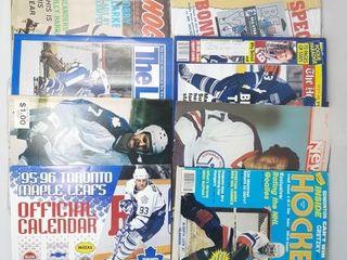 lot of Old Hockey Magazines