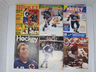 lot of Old Hockey Magazines  2 Wayne Gretzky
