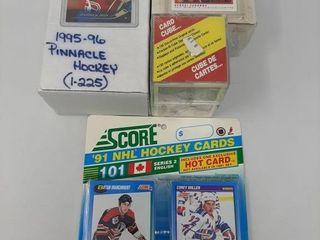 90 91 Opc Premier Set  95 95 Pinnacle Cards  91