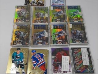 Mcdonald s Hockey Cards  Assortment Ultra Gold