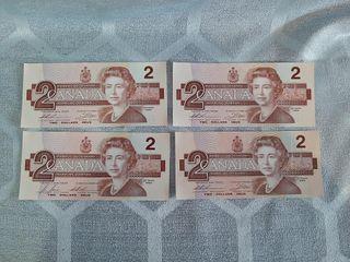 4 Canadian 1986  2 Bill s