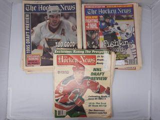 Assortment of hockey news