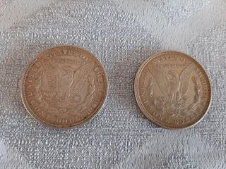 2 1921 American  1 Coins