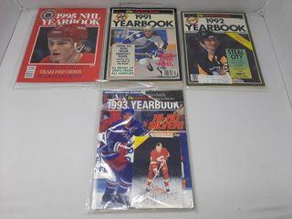 Assortment of year books