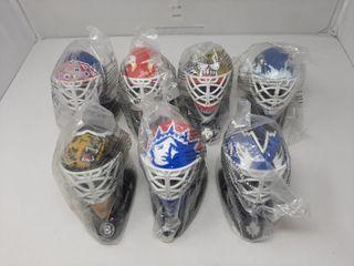 NHl McDonald s plastic goalie masks