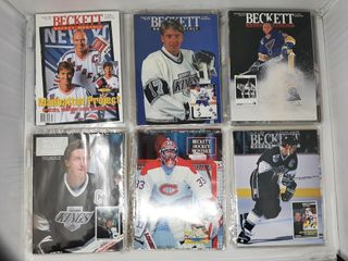 lot of hockey becketts