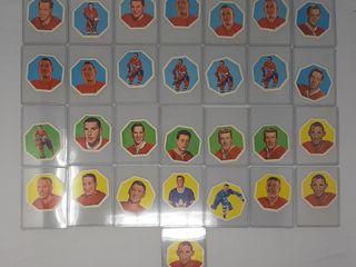 29 63 64 York peanut butter cards