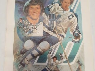 lot Of Hockey Posters  largest Measures 34  X 23