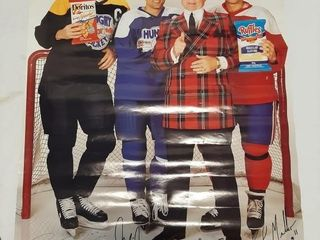 Hockey Posters  largest Measures 34 1 2  X 23