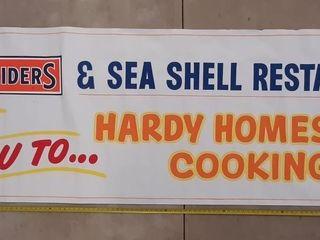 Schneiders And Sea Shell Restaurant Banner 116  X