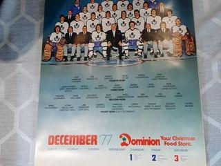 77 79 Toronto Maple leafs Calendars