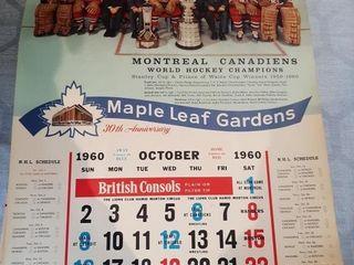 1961 Maple leafs Gardens 30th Anniversary