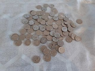 lot of Canadian nickels 1940s and up
