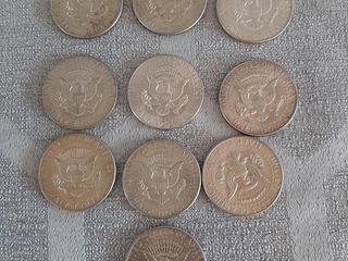 American half dollars 1965 to 1969