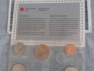Canadian Uncirculated 1996 Currency