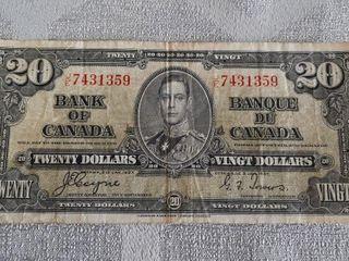 Canada 1937  20 Bill