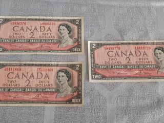 3 Canadian 1954  2 Bills