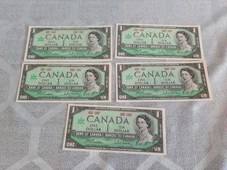 5 Canadian 1967  1 Bill s