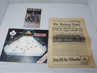 1986 Toronto Maple leafs Calendar Shoppers Drug