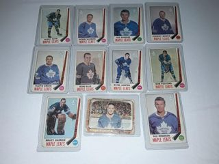 10 1969 70 Toronto Maple leaf Players 1 66 67