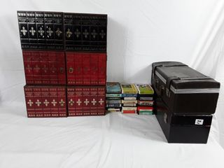 large lot Of Old 8 track Tapes Mostly Country