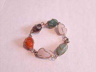 Cute Gem Stone Bracelet