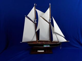 Bluenose II painted boat
