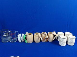 Assorted NHl logo mugs and glasses etc