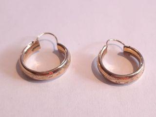 Gold Coloured Earrings