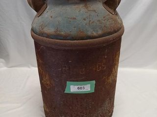 Vintage Milk Can 22  Tall
