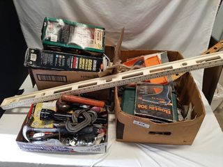 Handy Man lot With Miscellaneous Tools And