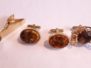 2 Christian Dior Cuff links And 1 Misc Cuff link