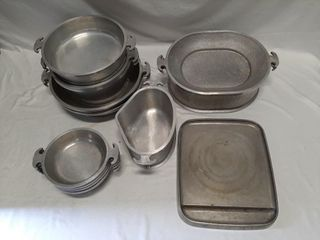 Metal Dish lot