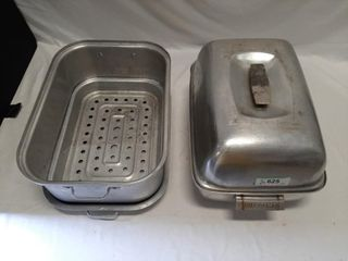 Metal Buffet Serving Dishes