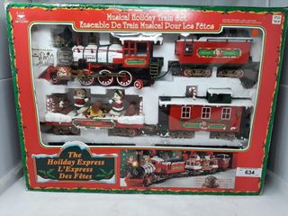 The Hoilday Express Christmas Train Set In Box
