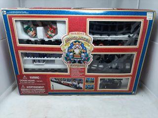 Holiday Nutcracker Express model train set