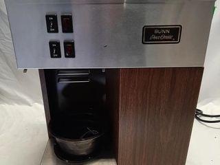 Bunn pour Omatic coffee machine and coffee