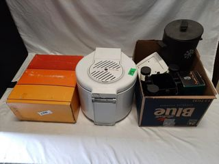 Kitchen lot with thermos  air fryer  coffee