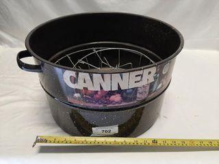 Enamel canning bucket